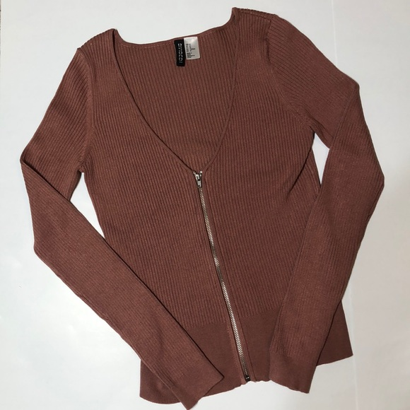 H&M Tops - H&M > Divided > Zip-Up Cardigan